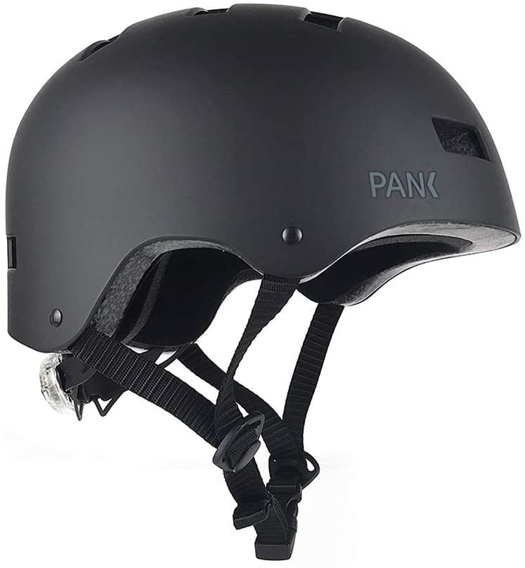 comprar casco negro patinete