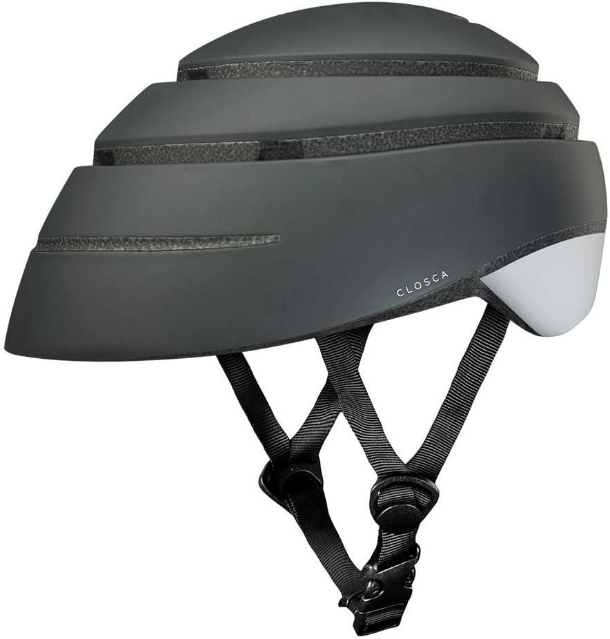 casco gris para patinete